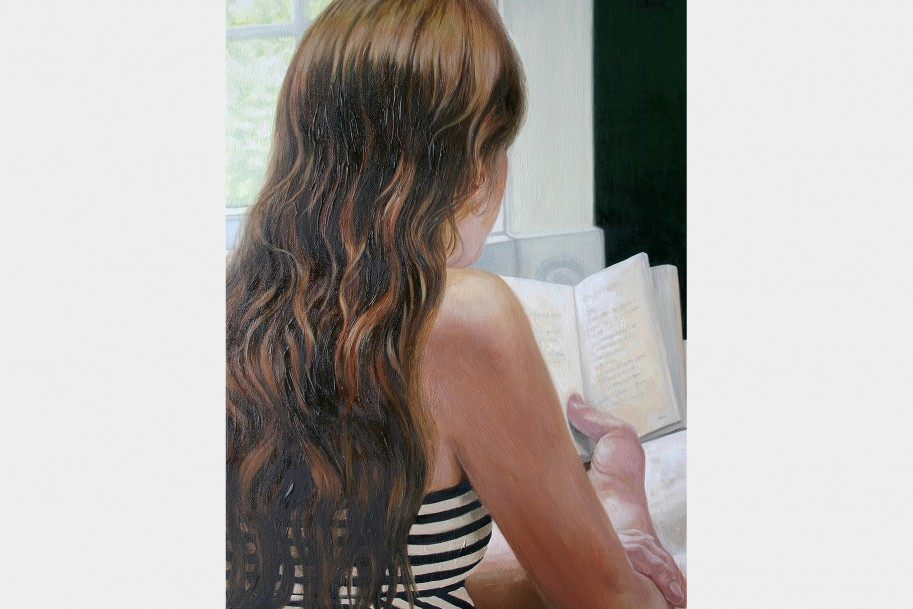 Page of Life - a girl reading a book